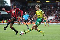 Philip Billing of Bournemouth tries to block the cross by Todd Cantwell of Norwich City during the Premier League match between Bournemouth and Norwich City at Goldsands Stadium on October 19th 2019 in Bournemouth, England. (Photo by Mick Kearns/phcimages.com)<br /> Foto PHC/Insidefoto <br /> ITALY ONLY