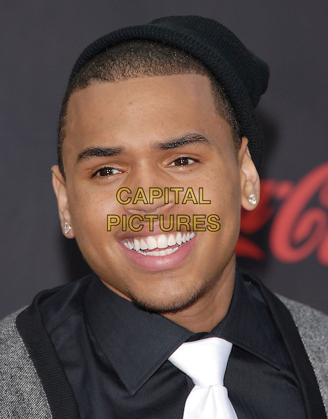 CHRIS BROWN.At The 35th Annual American Music Awards held at The Nokia Theatre in Los Angeles, California, USA, .November 18, 2006..portrait headshot.CAP/DVS.©Debbie VanStory/Capital Pictures