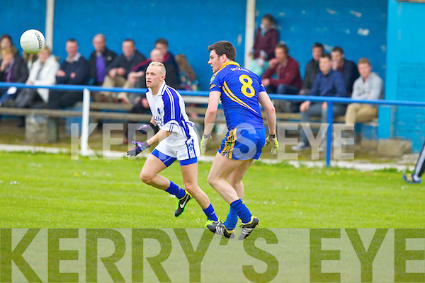 Kerins O'Rahillys in action against  Spa, Killarney at Strand Road, Tralee in Sunday in Round Five of the County League.