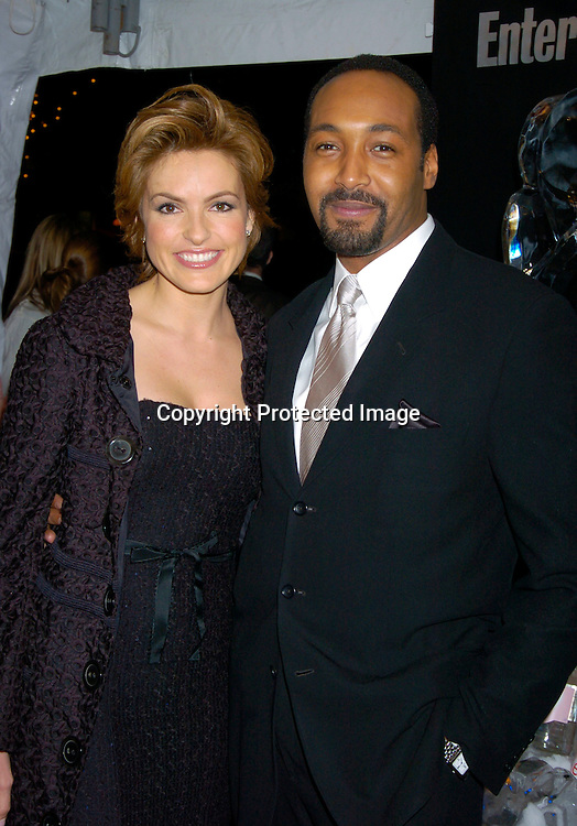 Markiska Hargitay and Jesse L Martin ..at the Entertainment Weekly 10th annual Oscar Party on ..February 29, 2004 at Elaine's in New YOrk City. Photo by Robin Platzer, Twin Images