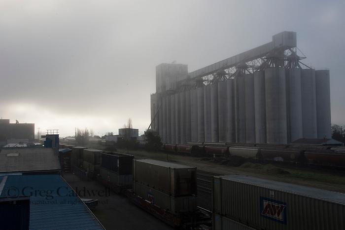 Image made around the terminal 86 grain facility.