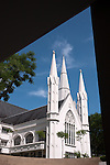 Singapore St Andrews Cathedral 01 - St. Andrews Cathedral, North Bridge Road, Singapore.