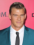 LOS ANGELES, CA - NOVEMBER 18: Alan Ritchson  arrives at   THE HUNGER GAMES: CATCHING FIRE L.A. Premiere held at Nokia Live  in Los Angeles, California on November 18,2012                                                                               © 2013  Hollywood Press Agency