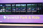 AE2KP5 Ipswich Park and ride bus and car park Suffolk England