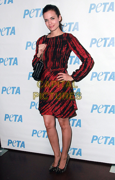 27 February 2013 - Los Angeles, California - Torrey DeVitto. &quot;Mayim's Vegan Table&quot; by Mayim Bialik of &quot;Blossom&quot; and &quot;The Big Bang Theory&quot; Book Launch held at PETA LA's Bob Barker Building. <br /> CAP/ADM/BP<br /> &copy;Theresa Bouche/AdMedia/Capital Pictures
