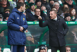 Brendan Rodgers and Kevin Clancy
