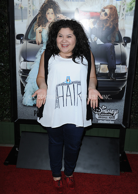 WWW.ACEPIXS.COM<br /> <br /> February 10 2015, LA<br /> <br /> Raini Rodriguez arriving at the Disney Channel Original Movie 'Bad Hair Day' Los Angeles Premiere at Walt Disney Studios on February 10, 2015 in Burbank, California.<br /> <br /> <br /> By Line: Peter West/ACE Pictures<br /> <br /> <br /> ACE Pictures, Inc.<br /> tel: 646 769 0430<br /> Email: info@acepixs.com<br /> www.acepixs.com
