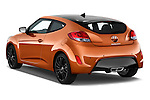 Car pictures of rear three quarter view of 2016 Hyundai Veloster 1.6-Manual 4 Door Hatchback Angular Rear