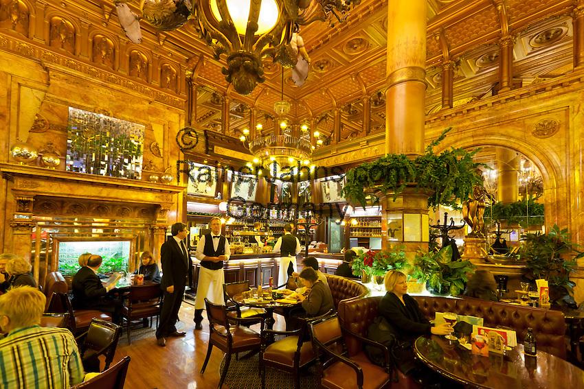 Belgien, Provinz Brabant, Bruessel: Cafe Metropole, Bar ...