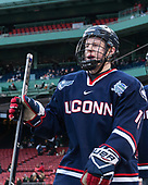 Evan Richardson (UConn - 19) - The University of Maine Black Bears defeated the University of Connecticut Huskies 4-0 at Fenway Park on Saturday, January 14, 2017, in Boston, Massachusetts.