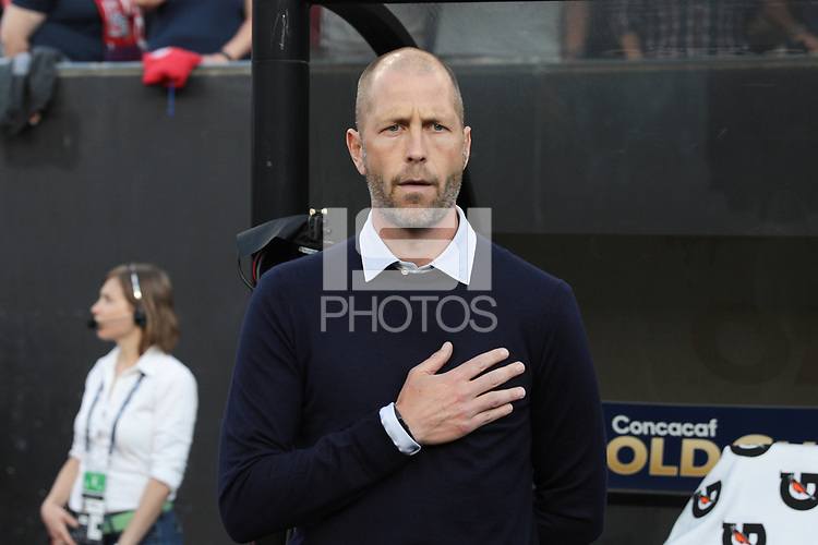 CLEVELAND, OHIO - JUNE 22: Gregg Berhalter during a 2019 CONCACAF Gold Cup group D match between the United States and Trinidad & Tobago at FirstEnergy Stadium on June 22, 2019 in Cleveland, Ohio.