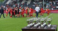 20180526 - Eupen , BELGIUM : illustration pictured during the final of Belgian cup 2018 , a soccer women game between KRC Genk Ladies and Standard Femina de Liege  , in the  Kehrweg stadion in Eupen , saturday 26 th May 2018 . PHOTO SPORTPIX.BE   DIRK VUYLSTEKE