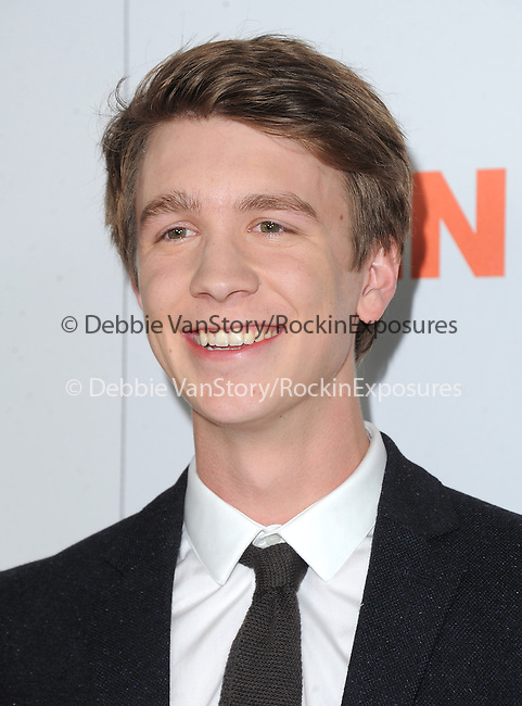 Thomas Mann at The Paramount Pictures L.A. Premiere of Fun Size held at Paramount Studios in Hollywood, California on October 25,2012                                                                               © 2012 Hollywood Press Agency