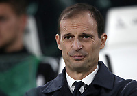 Calcio, Serie A: Juventus - Caglairi, Turin, Allianz Stadium, November 3, 2018.<br /> Juventus' coach Massimiliano Allegri looks on prior to the Italian Serie A football match between Juventus and Cagliari at Torino's Allianz stadium, November 3, 2018.<br /> UPDATE IMAGES PRESS/Isabella Bonotto