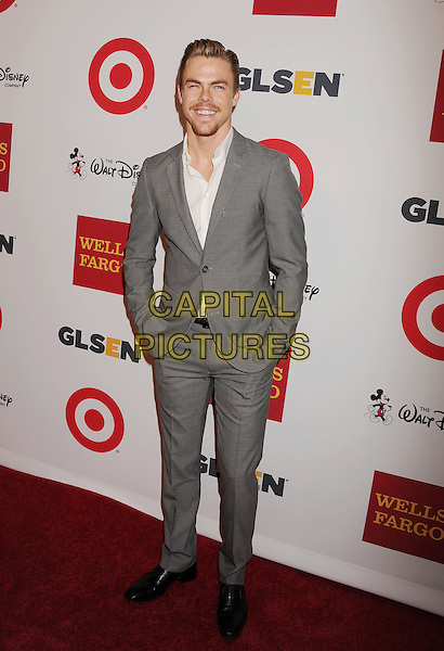 BEVERLY HILLS, CA- OCTOBER 17: Dancer/actor Derek Hough arrives at the 10th Annual GLSEN Respect Awards at the Regent Beverly Wilshire Hotel on October 17, 2014 in Beverly Hills, California.<br /> CAP/ROT/TM<br /> &copy;Tony Michaels/Roth Stock/Capital Pictures