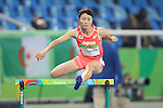 Satomi Kubokura (JPN), <br /> AUGUST 15, 2016 - Athletics : <br /> Women's 400m Hurdles  Qualifying Round <br /> at Olympic Stadium <br /> during the Rio 2016 Olympic Games in Rio de Janeiro, Brazil. <br /> (Photo by YUTAKA/AFLO SPORT)