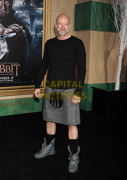 HOLLYWOOD, CA - DECEMBER 09: Actor Graham McTavish arrives at the 'The Hobbit: The Battle Of The Five Armies' at Dolby Theatre on December 9, 2014 in Hollywood, California.<br /> CAP/ROT/TM<br /> &copy;TM/ROT/Capital Pictures