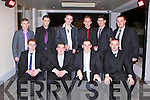 FUTURE LEGENDS: Enjoying a great time at the John Mitchels GAA annual dinner at the Ballygarry House hotel and Spa on Friday seated l-r: Matt Moloney, Wayne Duggan, Clive O'Callaghan and Eoin Kelliher. Back l-r: Adrain Coffey, Cathal Power, Christopher Lynch, Dan Kerins, Hayren Fitxgerald and Shane (Mush) Nammock.