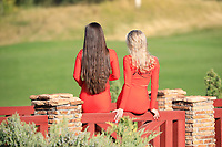 Models during the final round of the Kazakhstan Open presented by ERG played at Zhailjau Golf Resort, Almaty, Kazakhstan. 16/09/2018<br /> Picture: Golffile   Phil Inglis<br /> <br /> All photo usage must carry mandatory copyright credit (&copy; Golffile   Phil Inglis)