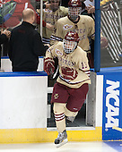 Johnny Gaudreau (BC - 13) - The Boston College Eagles defeated the University of Denver Pioneers 6-2 in their NCAA Northeast Regional semi-final on Saturday, March 29, 2014, at the DCU Center in Worcester, Massachusetts.