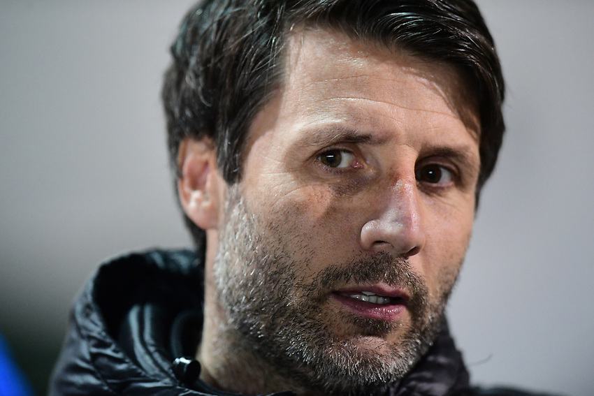 Lincoln City manager Danny Cowley<br /> <br /> Photographer Chris Vaughan/CameraSport<br /> <br /> The EFL Sky Bet League Two - Lincoln City v Yeovil Town - Friday 8th March 2019 - Sincil Bank - Lincoln<br /> <br /> World Copyright © 2019 CameraSport. All rights reserved. 43 Linden Ave. Countesthorpe. Leicester. England. LE8 5PG - Tel: +44 (0) 116 277 4147 - admin@camerasport.com - www.camerasport.com