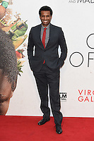 LONDON, UK. October 9, 2016: Tendo Nagena at the London Film Festival 2016 premiere of &quot;Queen of Katwe&quot; at the Odeon Leicester Square, London.<br /> Picture: Steve Vas/Featureflash/SilverHub 0208 004 5359/ 07711 972644 Editors@silverhubmedia.com
