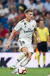 Toni Kroos of Real Madrid in action during the La Liga 2018-19 match between Real Madrid and Getafe CF at Estadio Santiago Bernabeu on August 19 2018 in Madrid, Spain. Photo by Diego Souto / Power Sport Images