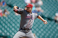 Lehigh Valley IronPigs starting pitcher Cole Irvin (33) during an International League game against the Buffalo Bisons on June 9, 2019 at Sahlen Field in Buffalo, New York.  Lehigh Valley defeated Buffalo 7-6 in 11 innings.  (Mike Janes/Four Seam Images)
