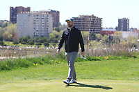 Andy Sullivan (ENG) on the 2nd tee during Round 3 of the Open de Espana 2018 at Centro Nacional de Golf on Saturday 14th April 2018.<br /> Picture:  Thos Caffrey / www.golffile.ie<br /> <br /> All photo usage must carry mandatory copyright credit (&copy; Golffile | Thos Caffrey)