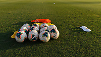 Miami, FL - Tuesday, October 15, 2019:  Nike soccer balls during a friendly match between the USMNT U-23 and El Salvador at FIU Soccer Stadium.