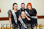 Contestants launching the Sickly Come Dancing Relaspe at UHK on Monday.<br /> Kneeling  Alan Kearney (Pharmacy).<br /> Back l to r: Ann Marie Dowling (Valentia Ward), Daniel Gee (Reece Ward) and Jean Thomas (Patient's Law).