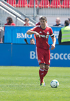 April 27, 2013: Toronto FC defender Darren O'Dea #48 in action during a game between Toronto FC and the New York Red Bulls at BMO Field  in Toronto, Ontario Canada..The New York Red Bulls won 2-1.