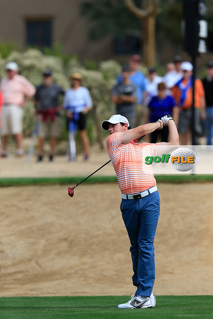 Rory McIlroy (NIR) during the first round at the WGC Accenture Matchplay Championship, Ritz-Carlton GC, Dove Mountain,Tucson, Arizona,USA.<br /> Picture: Fran Caffrey www.golffile.ie