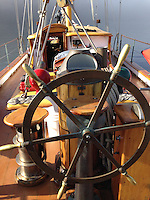 Aboard SV Maple Leaf, Gulf Islands, British Columbia, Canada