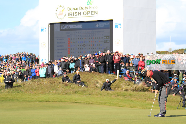 Soren HANSEN (DEN)  during round 4 of the Dubai Duty Free Irish Open, Royal County Down Golf Club, Newcastle Co Down, Northern Ireland. 31/05/2015 <br /> Picture Fran Caffrey, www.golffile.ie