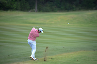 Grayson Murray (USA) hits his approach shot on 10 during Round 2 of the Valero Texas Open, AT&T Oaks Course, TPC San Antonio, San Antonio, Texas, USA. 4/20/2018.<br /> Picture: Golffile | Ken Murray<br /> <br /> <br /> All photo usage must carry mandatory copyright credit (© Golffile | Ken Murray)