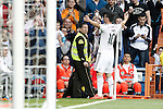 Real Madrid's James Rodriguez celebrates goal during La Liga match. April 29,2015. (ALTERPHOTOS/Acero)