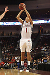 LAS VEGAS, NV - MARCH 7:  Jorden Page during the Saint Mary's Gaels 69-55 win over the Portland Pilots in the WCC Basketball Tournament on March 7, 2010 at Orleans Arena in Las Vegas Nevada.