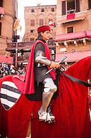 "The capitano del popolo (Italian for ""Captain of the People"") was an administrative title used in Italy during the Middle Ages..It was created in the early 13th century when the populares, the increasing wealthy classes of merchants, professionals, craftsmen and, in maritime cities, ship-owners, who were of non-noble origin, were able to acquire a role in the communal administration, and needed a figure able to balance that of the nobles (called potentes), represented usually by the podestà"