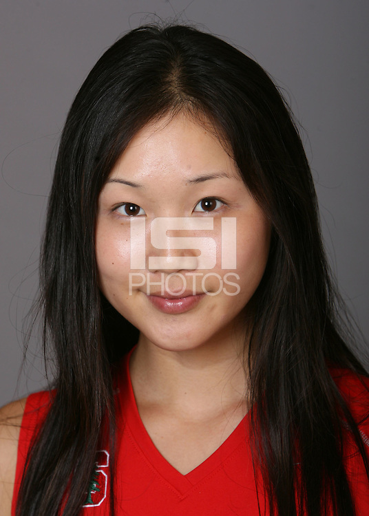 STANFORD, CA - OCTOBER 28:  Veronica Li of the Stanford Cardinal women's tennis team poses for a headshot on October 28, 2008 in Stanford, California.