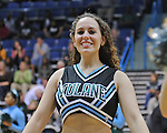 Selected images from the Tulane Shockwave Dance Team performance during the Tulane vs USM basketball game at Fogelman Arena on January 30.2010.