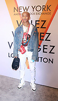 NEW YORK, NY October 26, 2017 Jaden Smith attend  Volez Voguez Voyagez x Louis Vuitton - Exhibition Preview at the Former America Stock Exchanging Build in New York October 26,  2017. Credit:RW/MediaPunch /NortePhoto.com