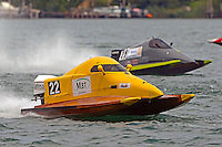Steve Dawe, (#22) and Andy Versace, (#28)     (SST-45 class)