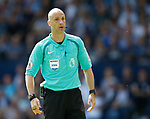 Referee Anthony Taylor during the premier league match at the Hawthorn's Stadium, West Bromwich. Picture date 27th August 2017. Picture credit should read: Simon Bellis/Sportimage
