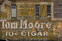 Mural on building in downtown Hot Springs Arkansas, in Hot Springs National Park