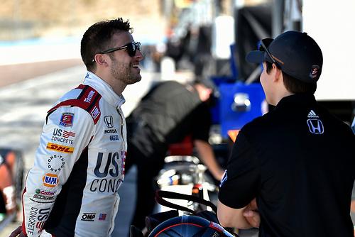 2018 Verizon IndyCar Series Phoenix testing<br /> Phoenix Raceway, Avondale, Arizona, USA<br /> Thursday 8 February 2018<br /> Marco Andretti, Herta - Andretti Autosport Honda<br /> World Copyright: Scott R LePage/LAT Images<br /> ref: Digital Image _SRL2722