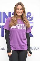 Sam Faiers<br /> at the launch WALK IT London for Crohn's & Colitis UK charity walk, Embankment, London.<br /> <br /> <br /> ©Ash Knotek  D3128  04/06/2016