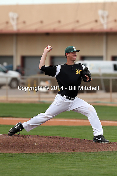 Brock Dykxhoorn - 2014 Central Arizona College Vaqueros (Bill Mitchell)