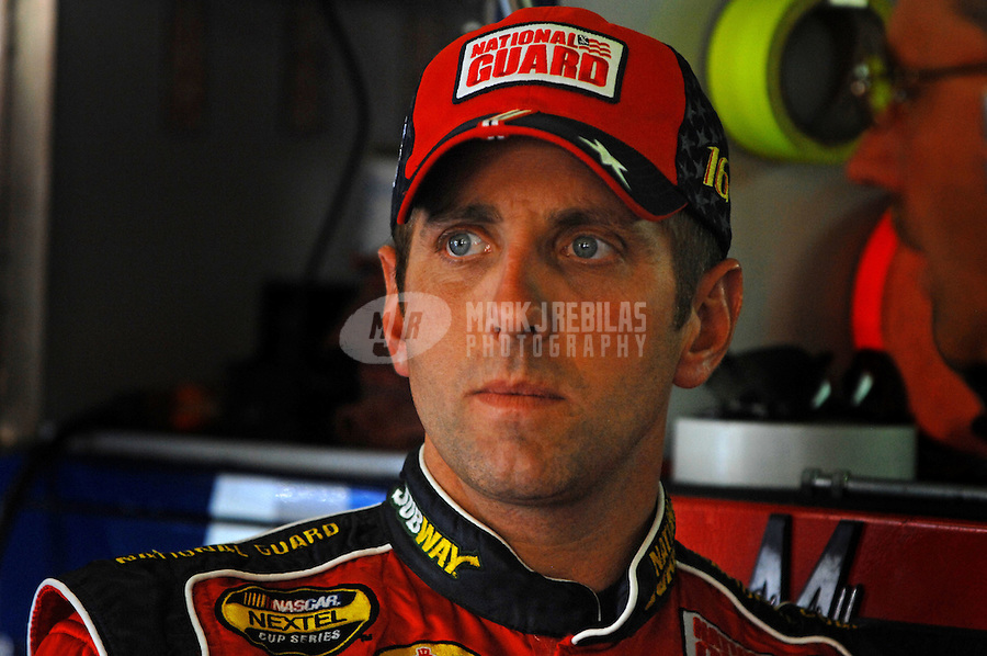 Oct 12, 2006; Concord, NC, USA; Nascar Nextel Cup driver Greg Biffle (16) during practice for the Bank of America 500 at Lowes Motor Speedway. Mandatory Credit: Mark J. Rebilas