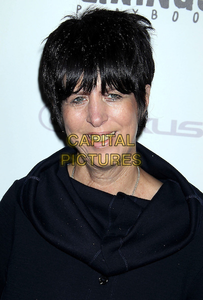 "Diane Warren.""Silver Linings Playbook"" - Los Angeles Special Screening held at the Academy of Motion Picture Arts and Sciences Samuel Goldwyn Theater, Beverly Hills, California, USA..November 19th, 2012.headshot portrait black  .CAP/ADM/RE.©Russ Elliot/AdMedia/Capital Pictures."